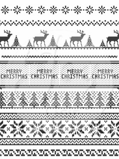 Ugly Sweater Background WM
