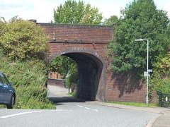 Kidderminster Road, Droitwich Spa - railway bridge