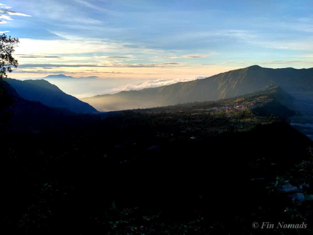 mount bromo sunrise view