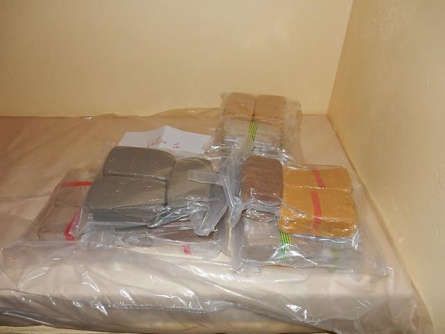 La douane saisit 32 kg d'héroïne à Dunkerque