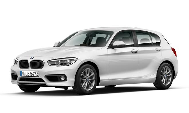 [新聞照片一] 全新BMW 1系列118i勁白時尚版, 限量100台預購價129萬起