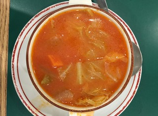 "Chinese ""Russian borscht"" aka vegetable soup"