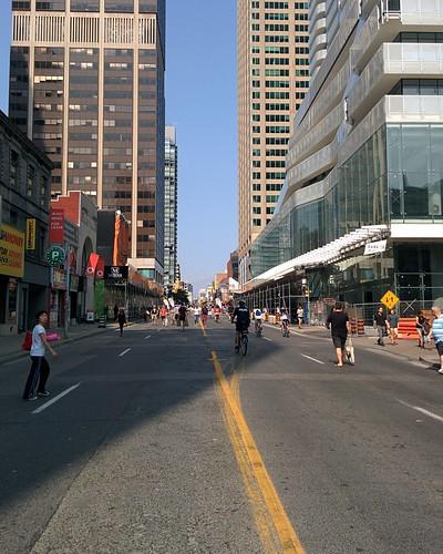 Open Streets (5) #toronto #yongeandbloor #yongestreet #openstreetsto