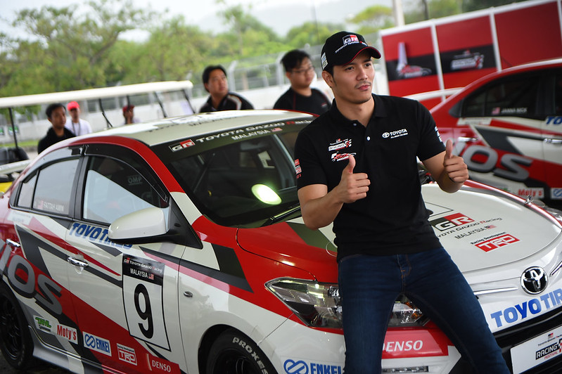 Fattah Amin Looking Excited For His First Race Series