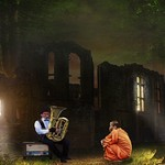 Trombone Player And The Monk