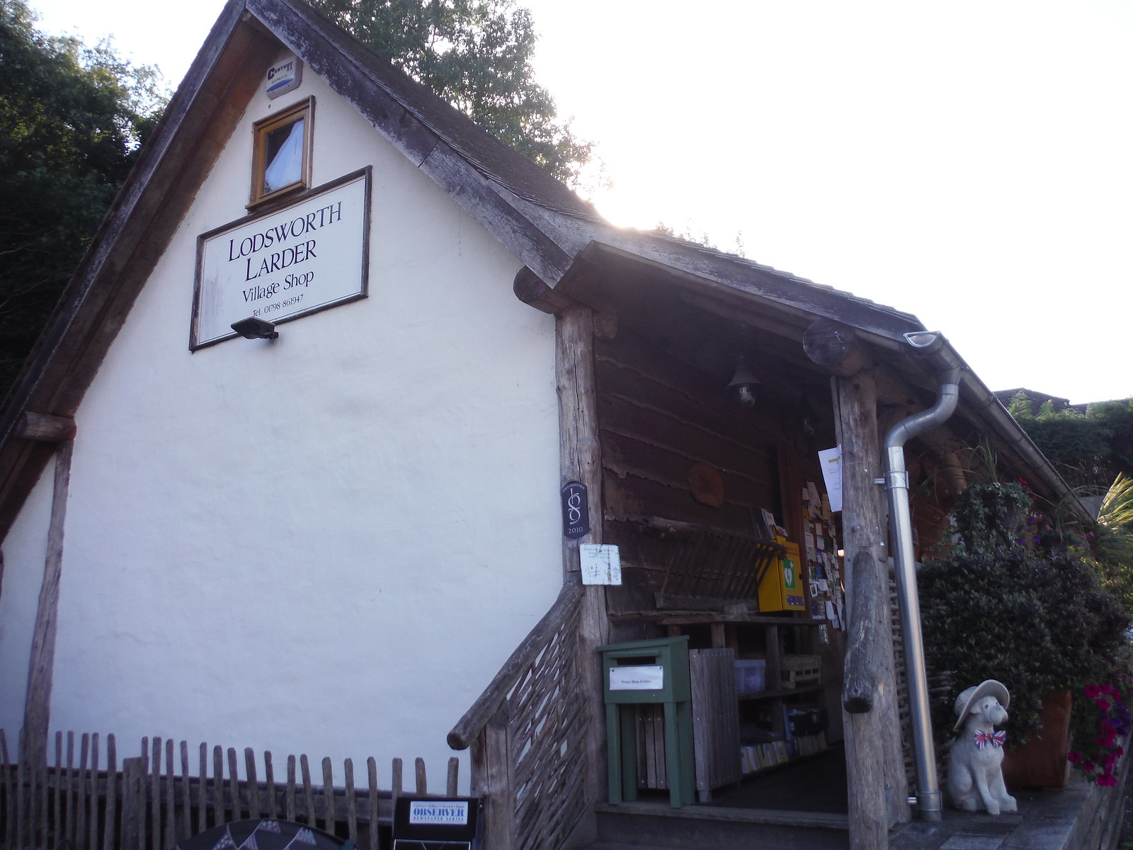 The Lodsworth Larder (Community Shop) SWC Walk 294 - Pulborough to Halfway Bridge (via Tillington)