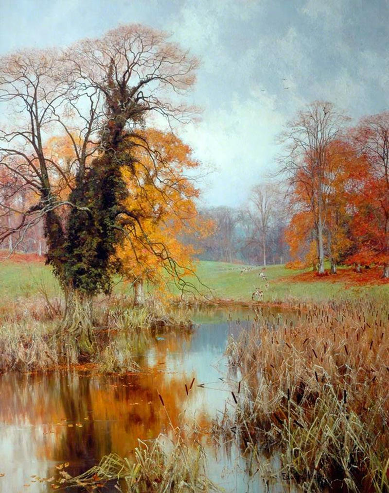 Autumn Colouring by Edward Wilkins Waite, 1894