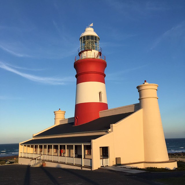 Cape Agulhas lighthouse - at the southernmost tip of Africa