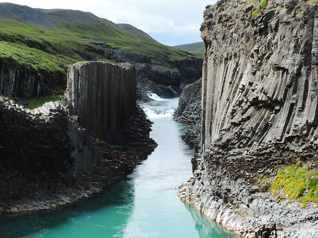 Breathtaking Canyons In Iceland: Stuðlagil / Basalt Column Canyon, Iceland
