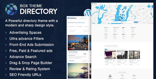 Directory v1.0 – Multi-purpose WordPress Theme