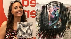 Amazing use of art to cure people! #London #artist uses art to control #Skin Picking disorder http://buff.ly/2uCtatO via The Asian Age