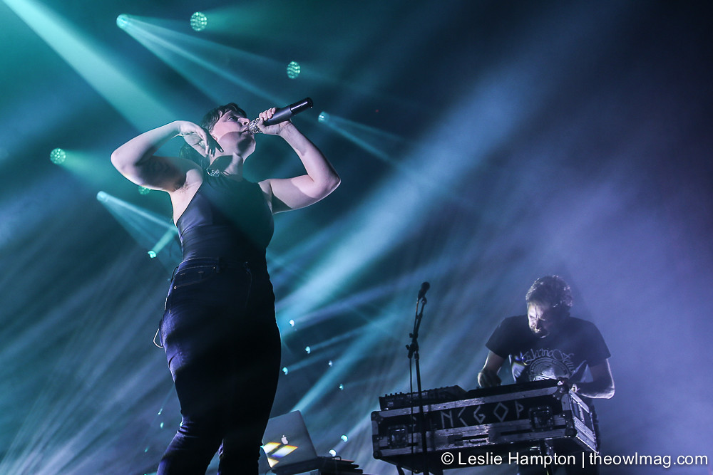 Sylvan Esso @ Fox Theater, Oakland 8/22/17