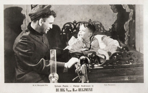 Sylvain Poons and Hansje Andriessen in De big van het regiment (1935)