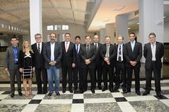 27/09/17 O prefeito Alexandre Kalil e o presidente da Caixa Econômica Federal, Gilberto Occhi, assinam, nesta quarta-feira, dia 27, contrato de financiamento no valor de R$ 120 milhões, destinados a obras em Belo Horizonte.
