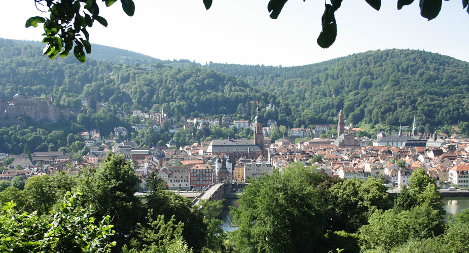 Travel guide to Heidelberg, Germany. Philosofenweg | Mooistestedentrips.nl