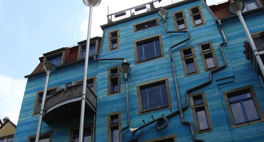 Dresden bezienswaardigheden: Kunsthofpassage Dresden Neustadt | Mooistestedentrips.nl
