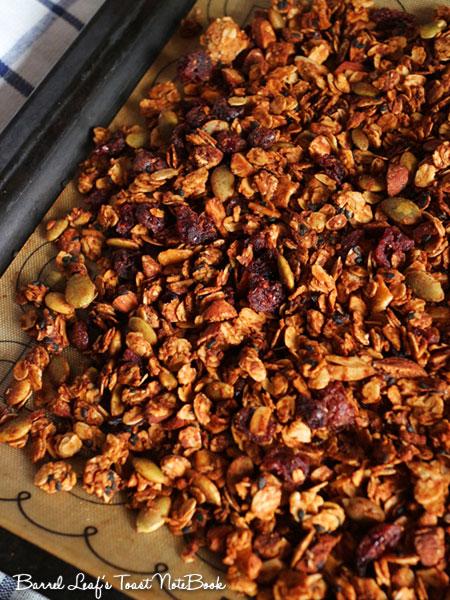 純素花生醬燕麥穀片 Vegan Peanut Butter Granola (3)