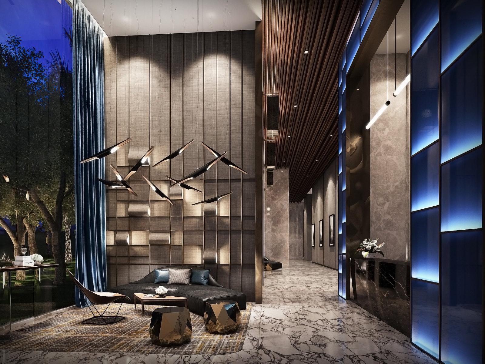 Lobby room hotel