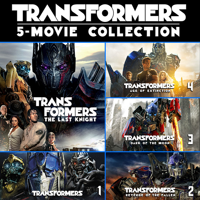 Transformers 5-Movie Collection (plus Bonus Features)