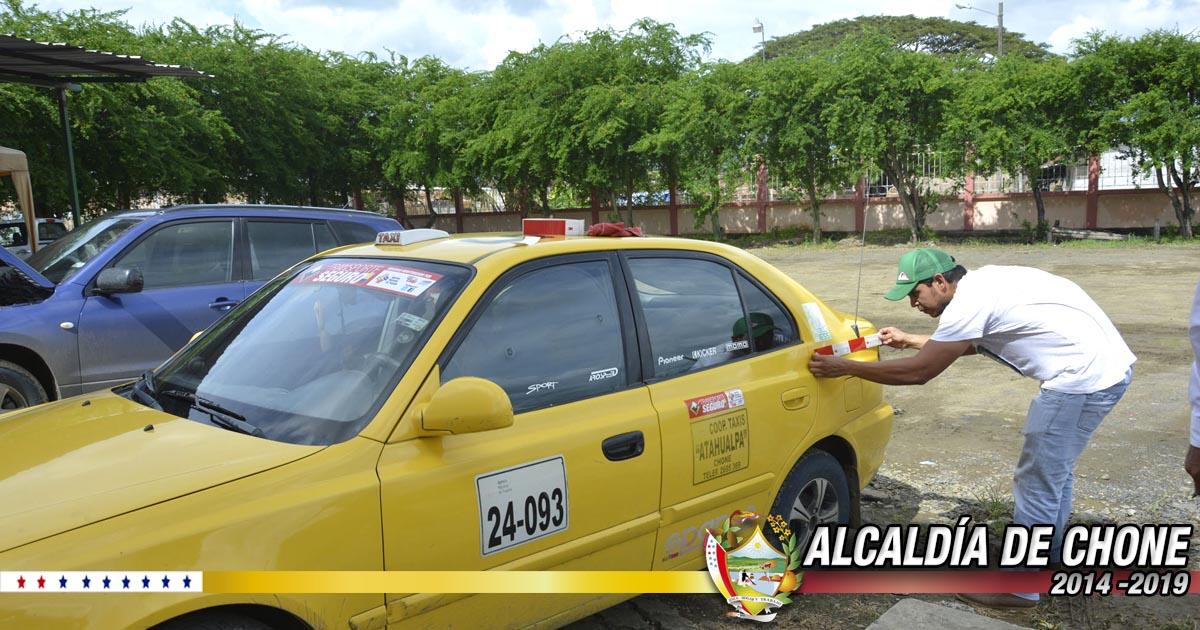 1371 vehículos matriculados en el mes de Agosto en Chone
