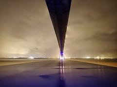Le Pont de Normandie - a sense of scale