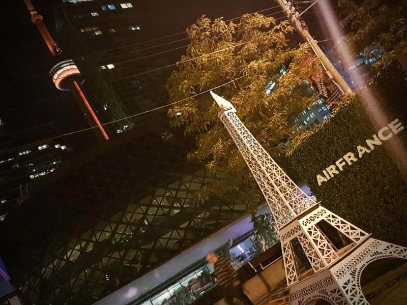 Eiffel Tower Toronto