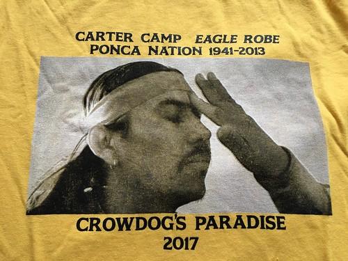 Carter Camp memorial T shirt