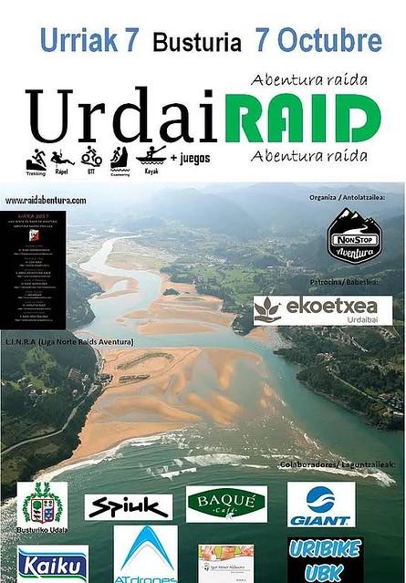 Inscritos en Raid Aventura UrdaiRaid 2017: 7 Octubre en Busturia