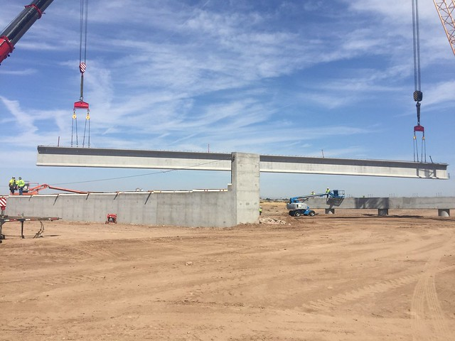 Salt River Bridge Construction - September 2017