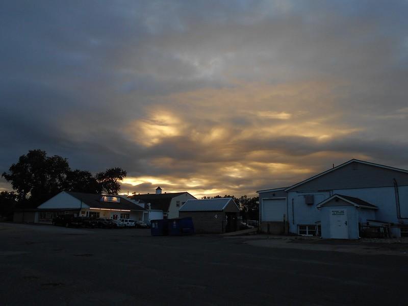 portentous sky