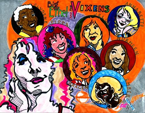BIG ETHEL + THE VIXENS
