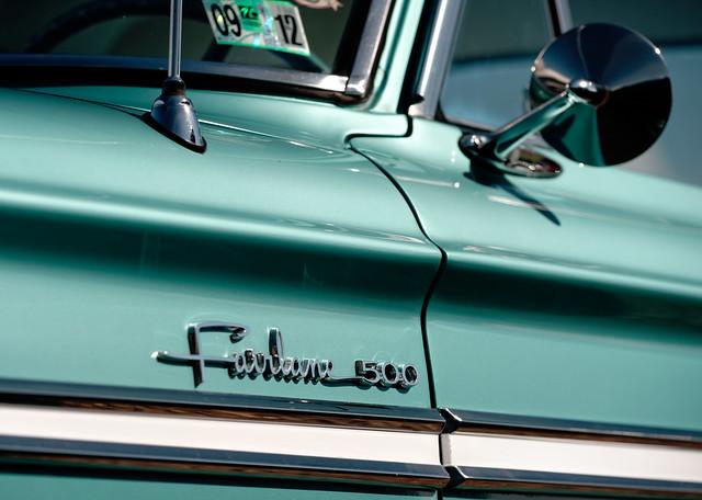 Ford Fairlane, Nikon D4, Sigma APO Macro 150mm F2.8 EX DG HSM