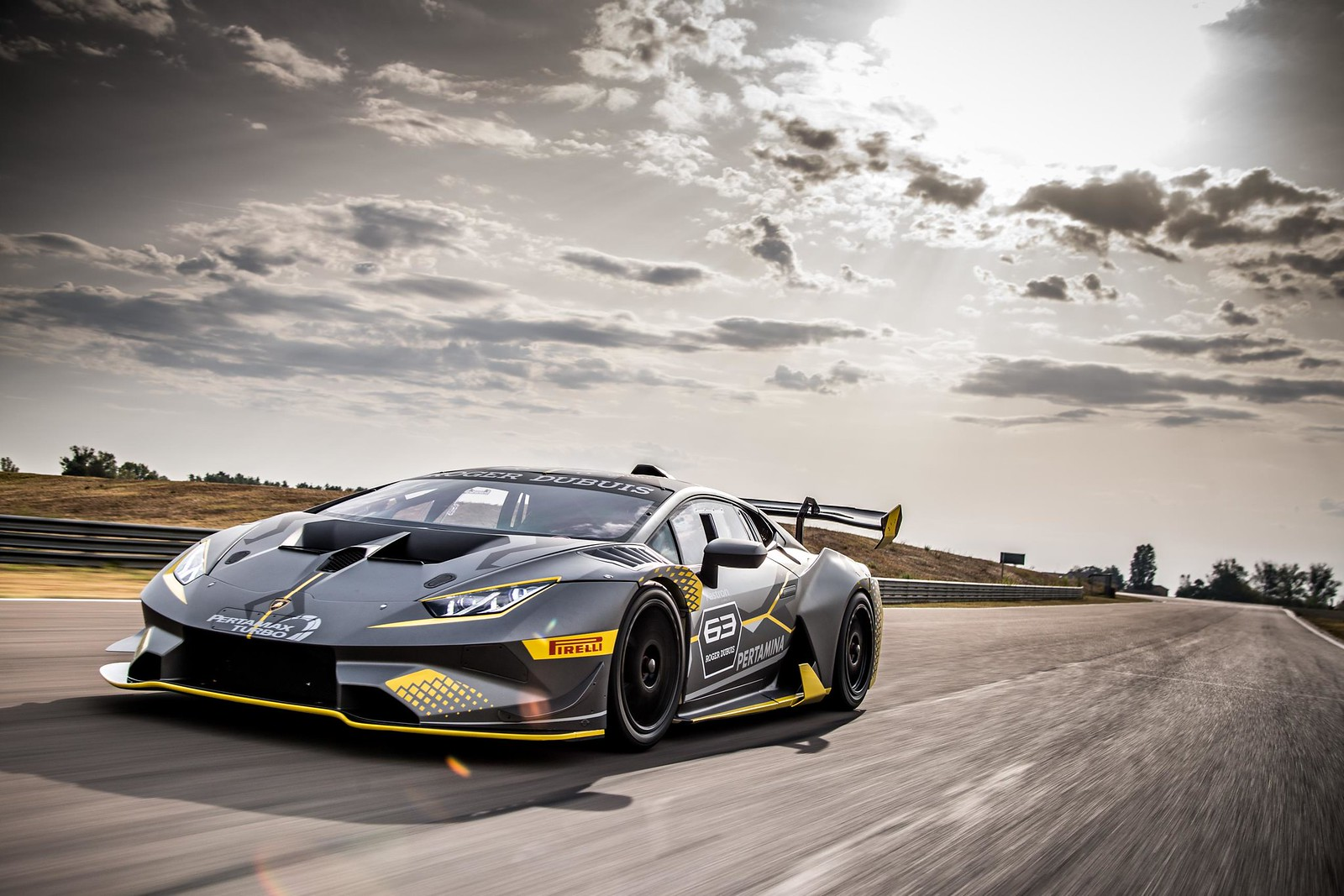 The new Huracán competition version for the Super Trofeo one-make series