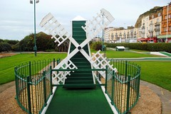 Hastings Crazy Golf windmill