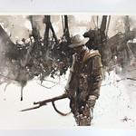 Judd Mercer; Survivor; Watercolor; 2017 -