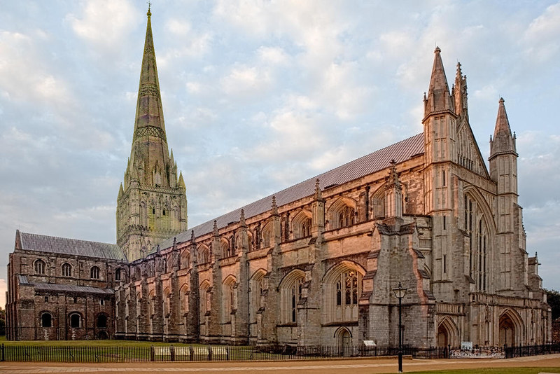 What Winchester Cathedral might have looked like with its spire intact