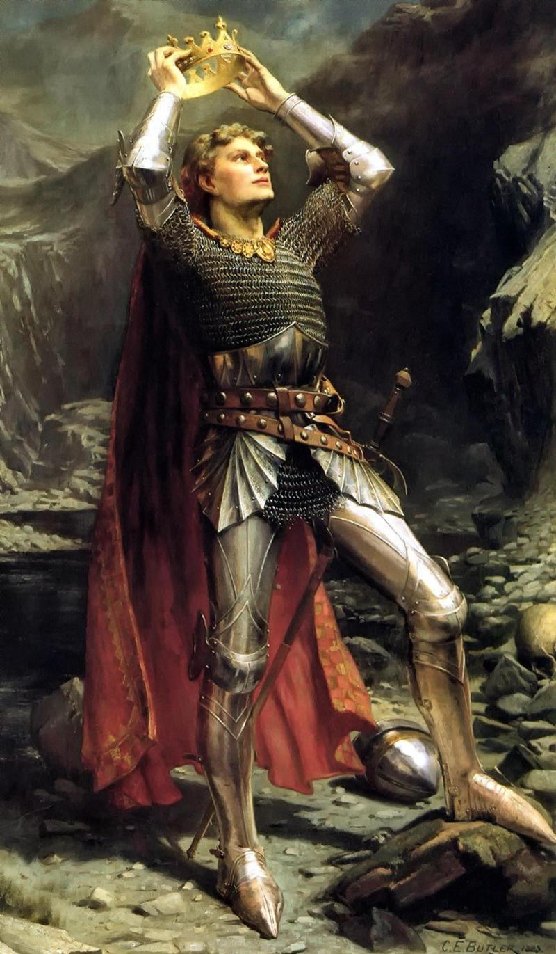 King Arthur by Charles Ernest Butler, 1903