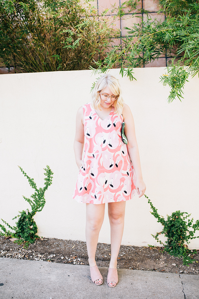 austin style blogger writes like a girl flamingo dress11