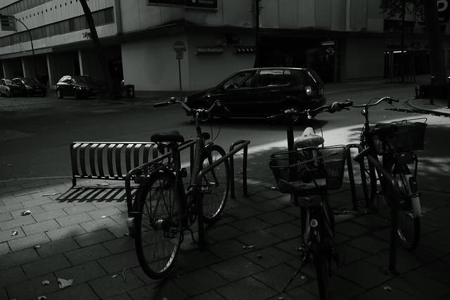 @a corner of Düsseldorf