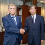 ADB Governor for Uzbekistan visits HQ