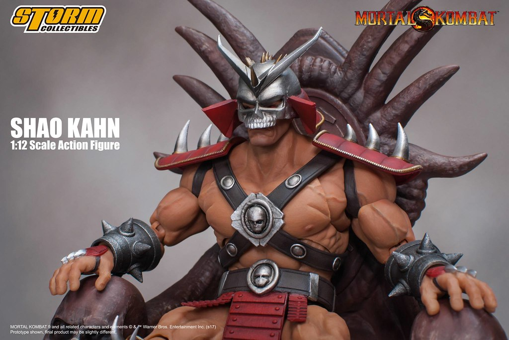 Storm Collectibles 真人快打系列【紹.可汗】Shao Kahn 1/12 比例人偶作品