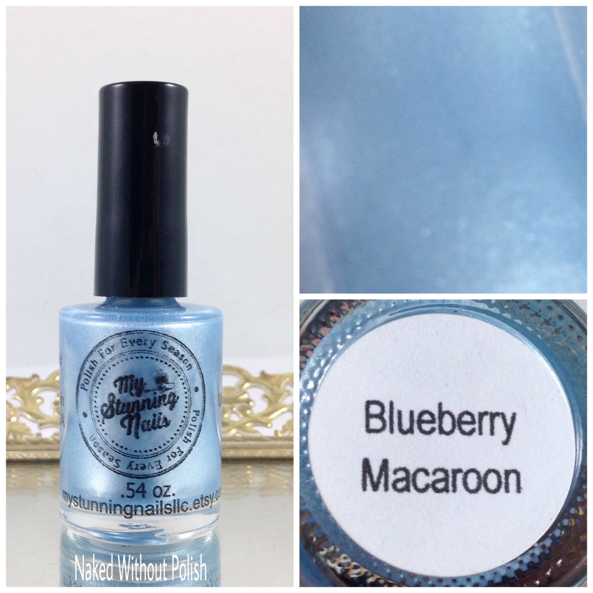 My-Stunning-Nails-Blueberry-Macaroon-1