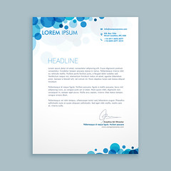 letterhead creative template
