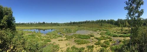 Elk Island Hike panorama