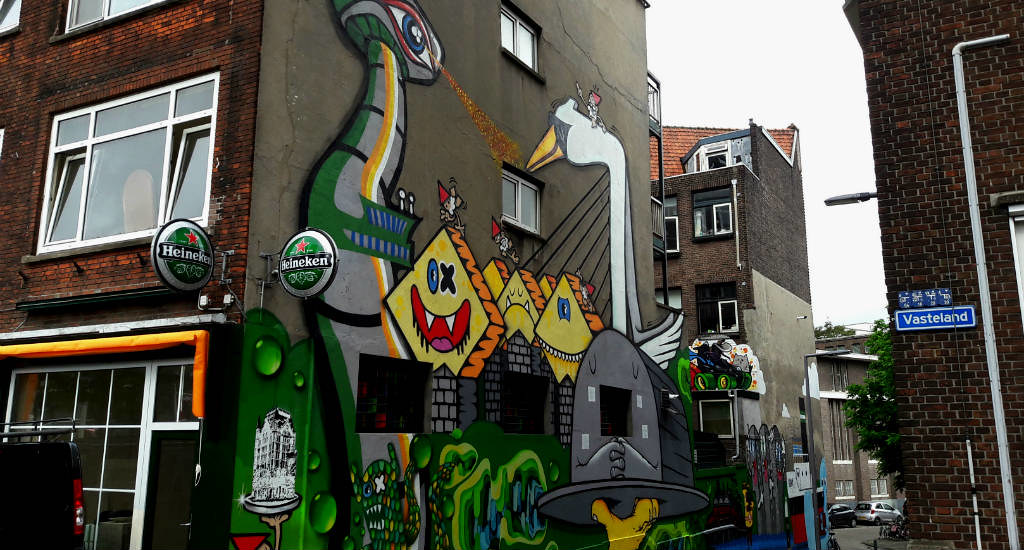 Street art tour in Rotterdam, The Netherlands: Lastplak | Your Dutch Guide