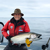 Fantastic fish for a first-time guest at Langara Fishing Lodge