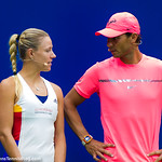 Angelique Kerber, Rafael Nadal