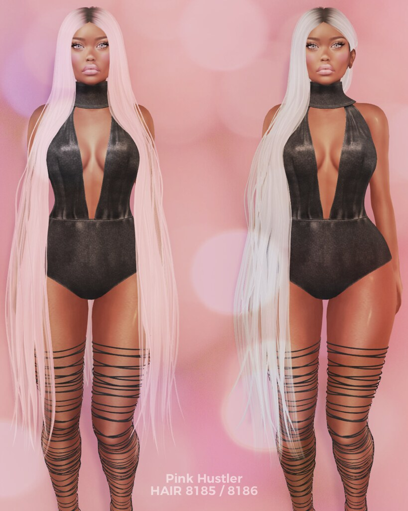 HAIR 8185 / 8186 - SecondLifeHub.com