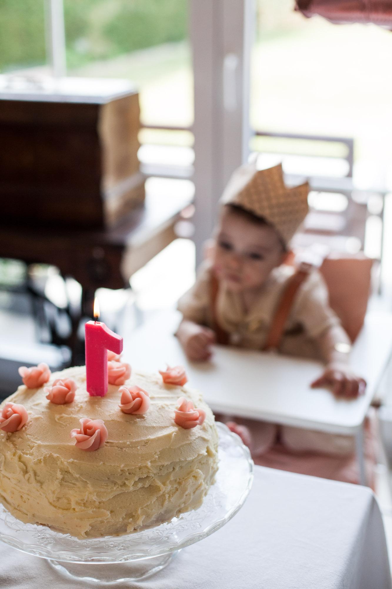 emma's eerste verjaardag