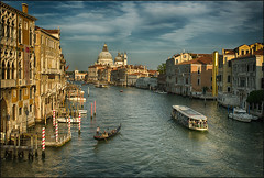 Canal Grande in the Evening Light